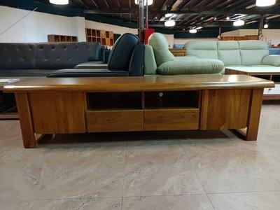 【瑞城家具】實木柚木家具電視櫃視聽櫃