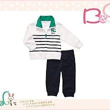【B& G童裝】正品美國進口Carter's 黑白條紋長袖外套+長褲2件一組套裝24M