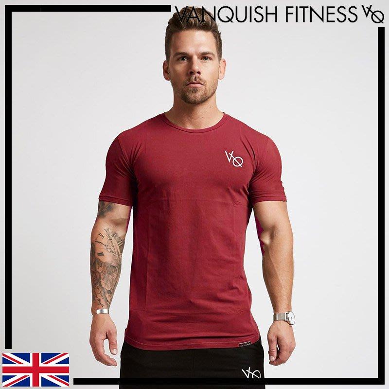►瘋狂金剛◄ 勃艮第紅 VANQUISH ESSENTIAL SHORT SLEEVED T-SHIRT 基本款短袖T恤