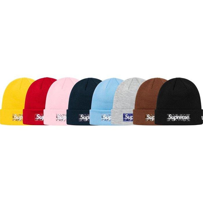 【美國鞋校】預購 Supreme FW19 New Era Box Logo Beanie 毛帽