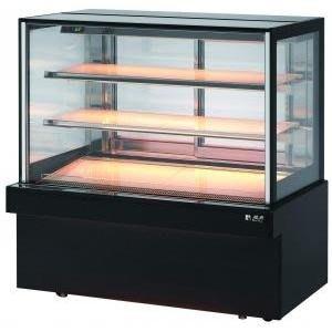 瑞興四尺直角蛋糕櫃:全新品。台灣製造。落地型蛋糕櫃。蛋糕冷藏。點心專用。四尺落地型蛋糕櫃。