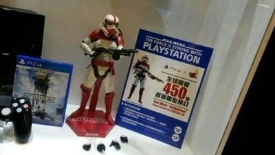 Hot Toys STAR WARS 星球大戰 Battlefront VGM20 PS4 Shock Trooper 白兵 1/6 figure 限定450隻