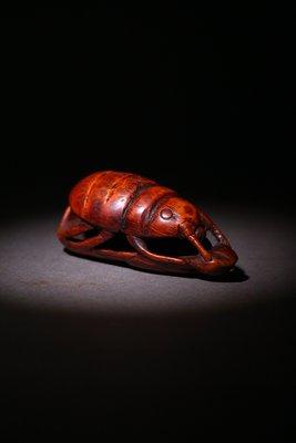 悅年堂 --- 竹根 雕 秋蟲