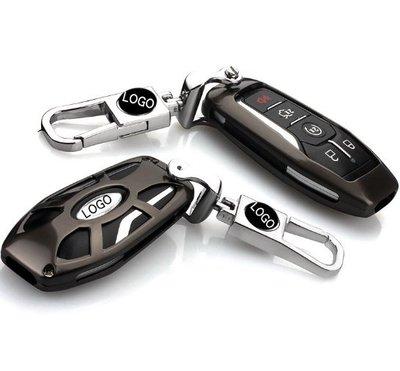 Ford 福特野馬Mustang金牛座汽車鑰匙包 金屬汽車鑰匙套扣掛扣掛飾汽車用品