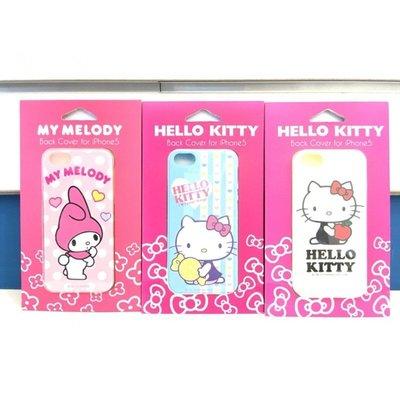 正版三麗鷗 iPhone5 5S hello kitty kt 美樂蒂 手機殼