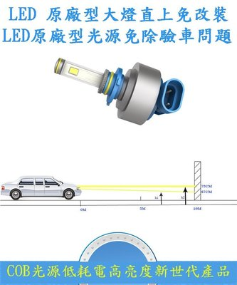 2000lm 9005 COB 原廠型 HID HB3 RAV4 汽車 機車 重機 LED 方向燈 遠燈 霧燈 大燈