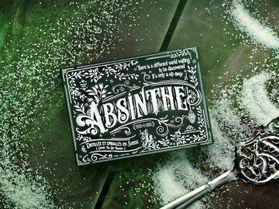 【USPCC撲克】撲克牌 Absinthe playing cards