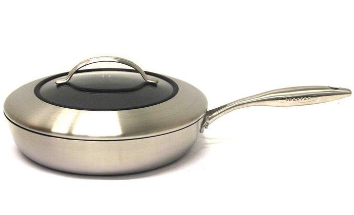 *DEYO德優 豐富生活*丹麥 SCANPAN 思康 CTX 26 cm 深炒鍋 (含鍋蓋) 陶瓷鈦合金不沾鍋