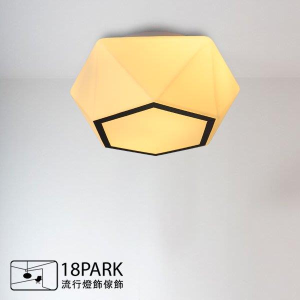 【18Park】簡約北歐Nordic wind[ 星符號吸頂燈-30cm ]