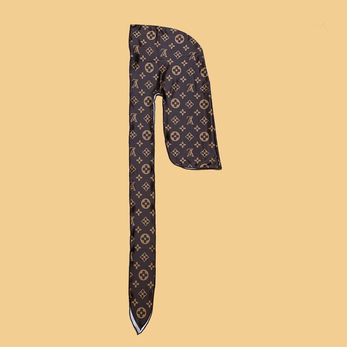 JCI:Du-rag LV 花紋「Lu-Rag」黑人綁帶頭巾 A$AP / 嘻哈 / APE / TRAVI$