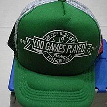 棒球天地----全新 統一獅 2015 有你真好 同樂會 高建三 專屬球帽