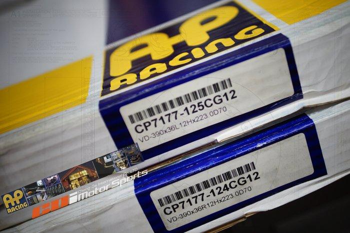 AP 原裝進口 AP外盤 CP-7177 對應 CP-8520 六活塞卡鉗專用 390x36mm 歡迎詢問 / 制動改