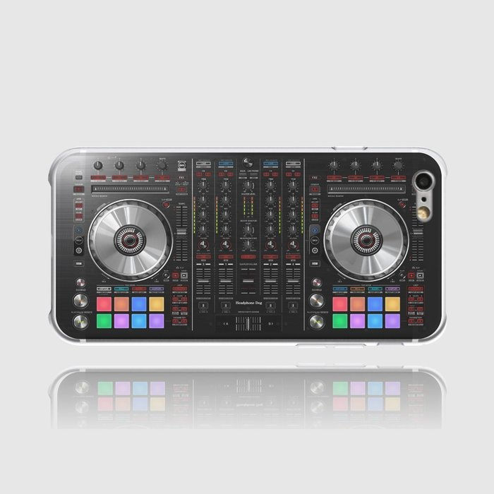 [第一代清倉]太空DJ系列手機殼(太空黑) (pioneer,serato,numark)