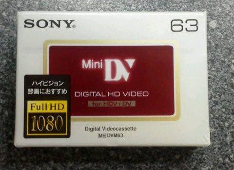SONY HDV帶【DVM63HD 】 DV空白攝錄影帶直接購買價單捲DV帶