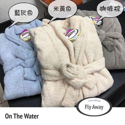 浴袍超吸水浴袍3M專利浴袍台灣製開纖紗...