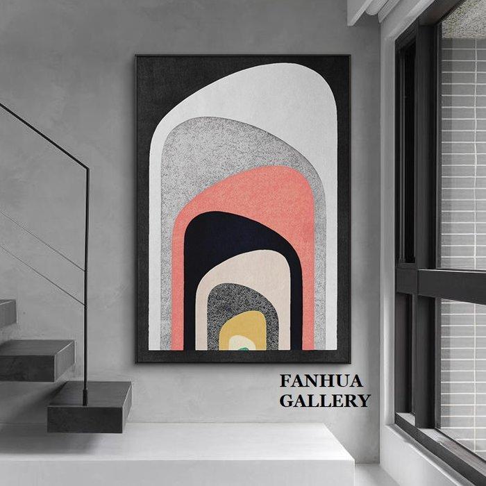 C - R - A - Z - Y - T - O - W - N 後現代時尚空間抽象掛畫新成屋住宅工作室健身房裝飾畫