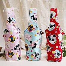 貓咪環保水壺袋 杯袋 手提袋 佰渡工坊-臺中市愛無礙協會
