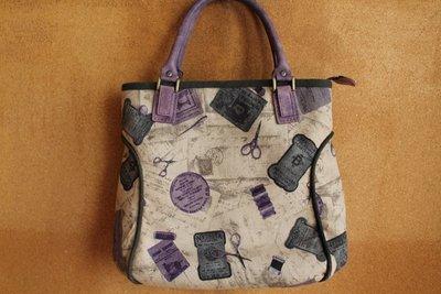 ~小麻雀拼布坊~ 裁縫圖案 拼布手提包