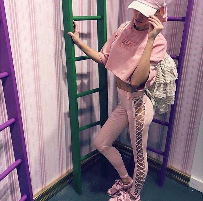 XinmOOn * FENTY RIHANNA X PUMA CROPPED Tee 574691 短版 聯名 寬版 女