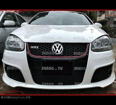 福斯 VW GOLF5 MK5 O 前保桿 前大包 套件 GTI R32