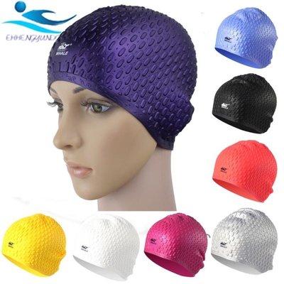 泳帽女成人大號長發硅膠防水護耳舒適時尚男大游泳帽