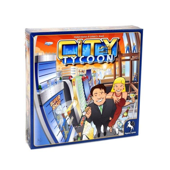 小園丁 $ 桌遊 # City tycoon 10y 12y