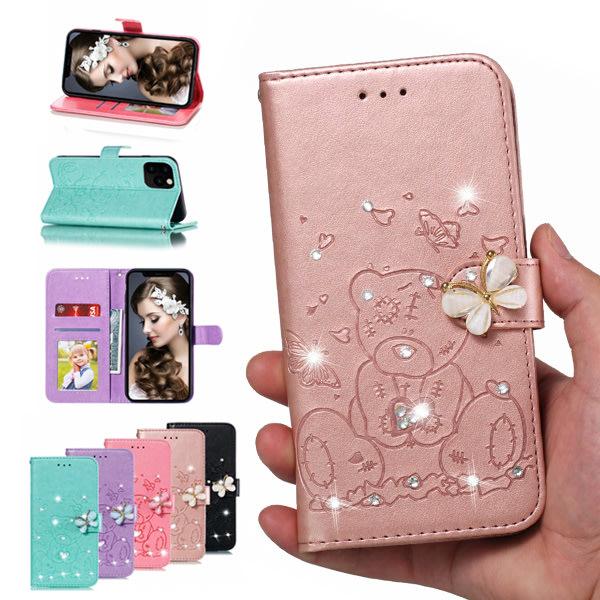蘋果 iPhone12 Pro Max iPhone11 XS Max XR iPhone8 SE 手機殼 蝴蝶小熊
