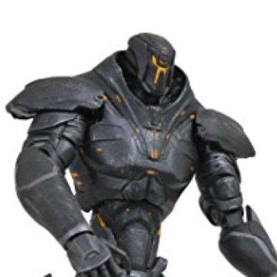 "Diamond Select Toys 7"" Action Figure  Pacific Rim 2 Uprising Obsidian Fury"