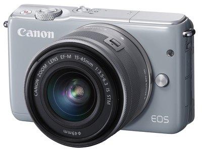 【eWhat億華】Canon EOS M10 搭 15-45mm 單鏡組 灰色  公司 類 A5000 EOS M【3】