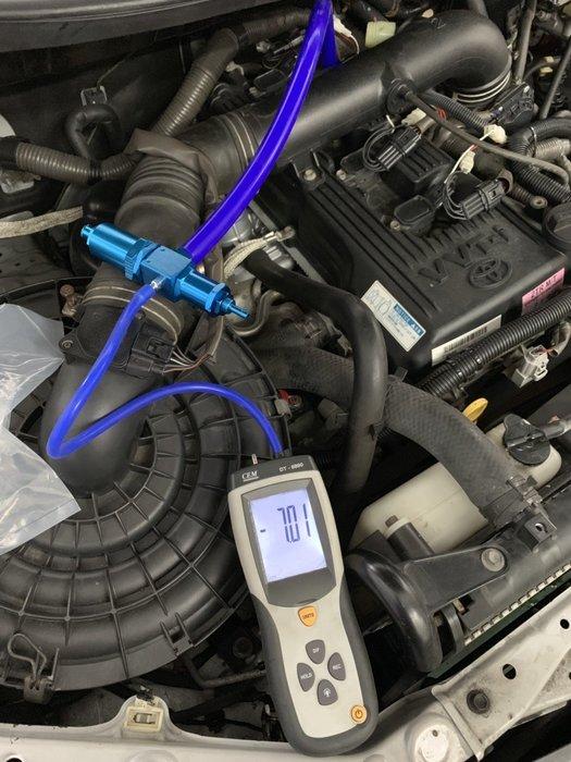 ☆光速改裝精品☆TOYOTA 2016 新款 INNOVA  曲軸器 曲軸負壓計 曲軸壓力閥