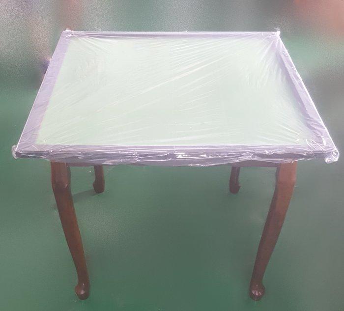 【宏品二手家具】 中古賣場 EA60203全新胡桃色麻將桌 餐椅 洽談椅 2手桌椅拍賣辦公椅 電腦椅 書桌椅99