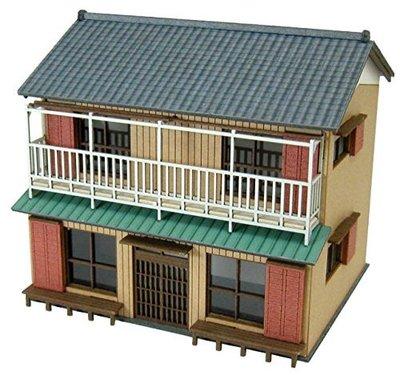 日本正版 Sankei 1/150 民家D MP03-103 紙模型 需自行組裝 日本代購
