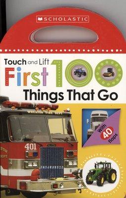 *小貝比的家*FIRST 100 THINGS THAT GO /硬頁書/0~2歲
