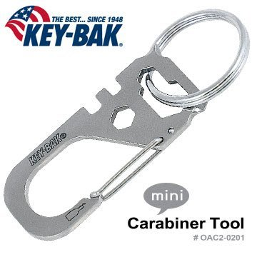 【EMS軍】美國KEY BAK Carabiner Tool 多功能工具-(公司貨) #0AC2-0201