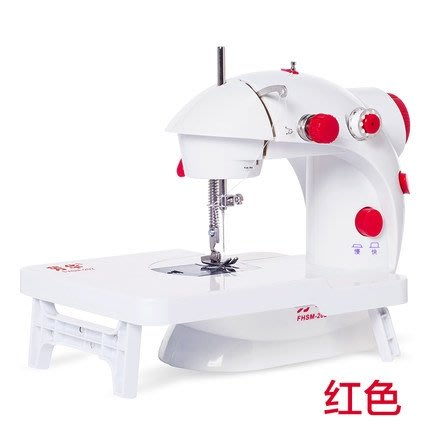 縫紉機 芳華202縫紉機家用電動迷你多功能小型手動吃厚微型腳踏縫紉機
