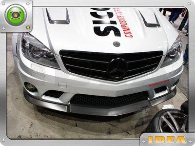 泰山美研社9114 BENZ C74 前保桿 下巴 保桿 碳纖維 carbon 客製改裝 國外進口 c220 c200 c300 c250 AMG