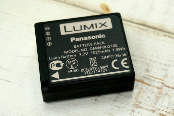 【中壢NOVA‧水世界】Panasonic BLG10 DMW-BLG10E 原廠電池 (裸裝)【100%正品】GF6 GX7 專用