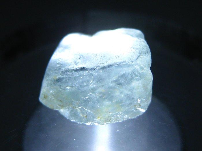 拓帕石 Topaz 天然無燒無處理 自然藍 原礦 標本 礦石 23【Texture & Nobleness 低調與奢華】