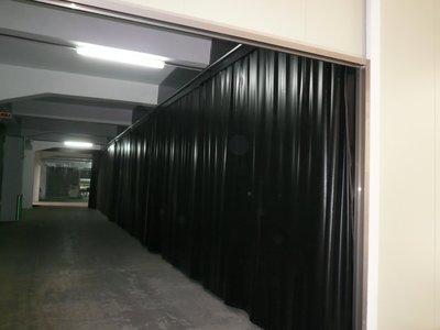 剛昱科技條狀塑膠門簾/PVC門簾/黑色網狀透明防靜電簾/
