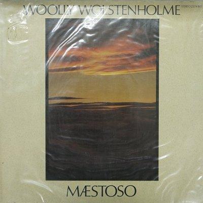 合友唱片 WOOLLY WOLSTENHOLME - MAESTOSO 黑膠唱片 LP (1980) 面交 自取
