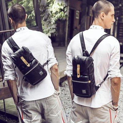 HERDER/赫登 精緻大胸包/後背包二用 男斜挎包 韓版 單肩包 挎包 側背包 腰包 潮包