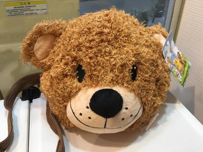 阿虎會社【E - 015】正版 梨花熊 Suzy's zoo 小熊 熊頭包 甜心熊 造型包