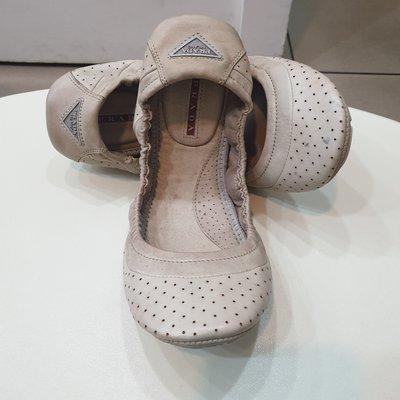 prada芭蕾舞娃娃鞋