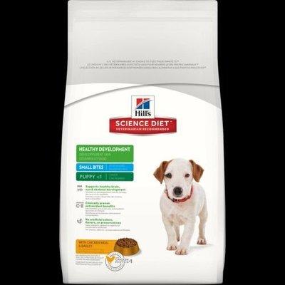希爾思 希爾斯 Hills 狗 均衡發育 雞肉與大麥 小顆粒 幼犬 1歲以下 犬用 15kg 生命階段  犬用乾糧 [1678HG] 現金專區