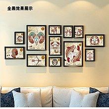 客廳裝飾畫現代家居臥室書房沙發背景牆壁畫12星座掛畫照片牆(4款可選)