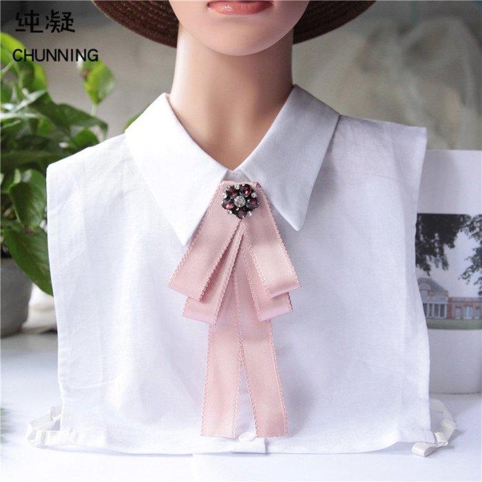 洛克小店J0084職業商務白領酒店銀行女士韓版裝飾蝴蝶結領花領結