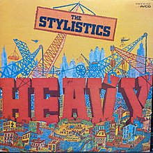 THE STYLISTICS/HEAVY 西洋 黑膠唱片