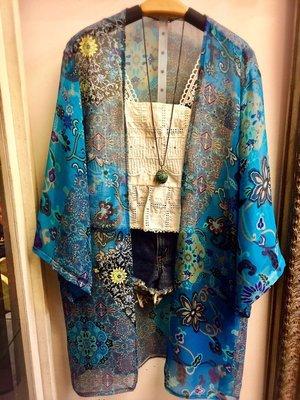 泰國正品(現貨) - 超好看的雪紡外罩衫 - 只有一件