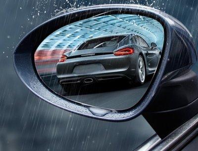 Porsche保時捷卡宴Macan帕拉梅拉718改裝 後視鏡車窗防雨膜防水防霧貼膜