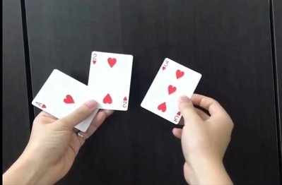 [fun magic] 紅心三兄弟 撲克牌魔術 321Separate 321 Separate 321分裂